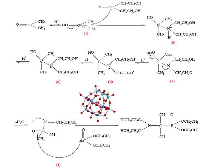 发生闭环反应,形成五元环结构.
